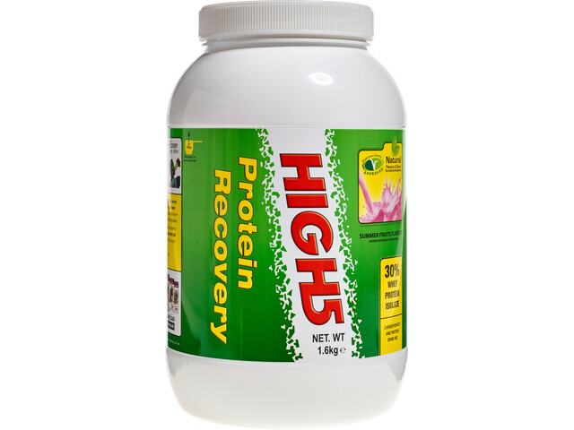 High5 Protein Recovery Drink Tub 1,6kg, Summer Fruits with Extra Protein